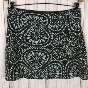 Patagonia Organic Cotton Retro Floral Print Skirt